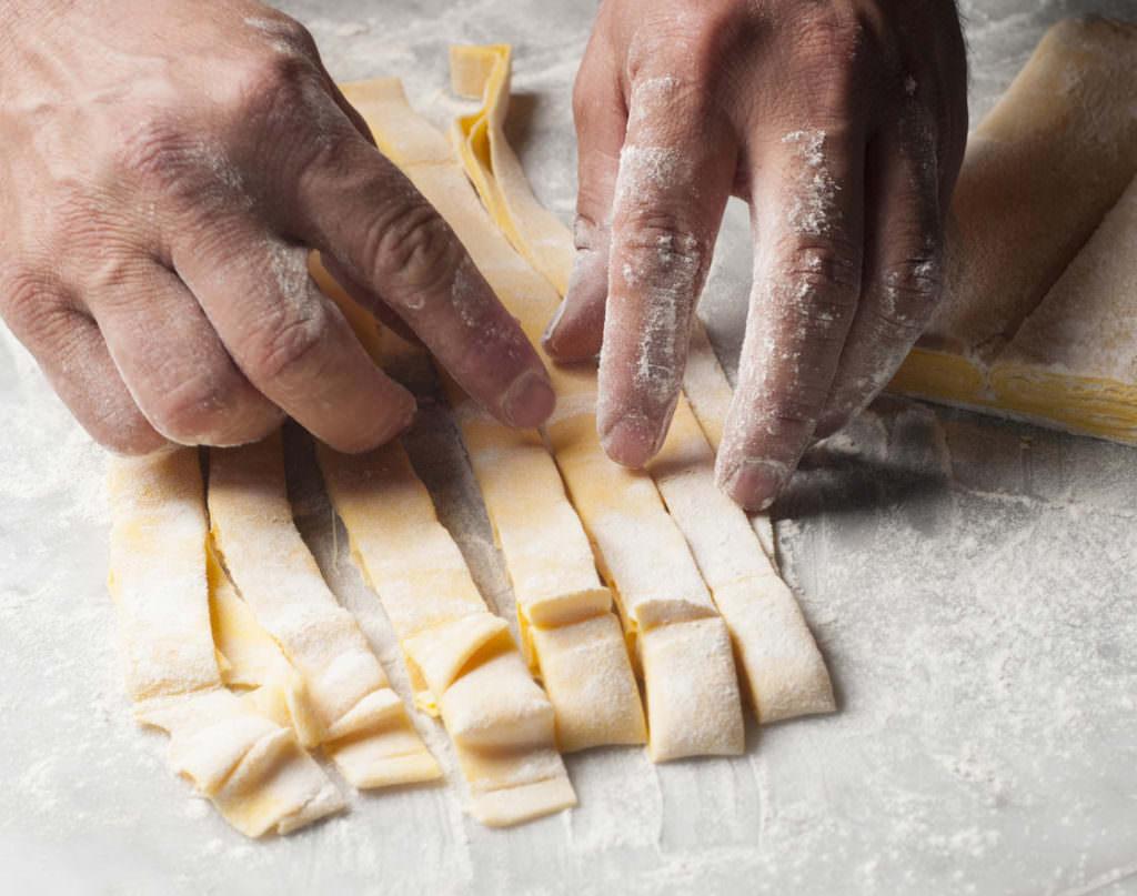 Welche Rolle spielt eine Pasta-Manufaktur?